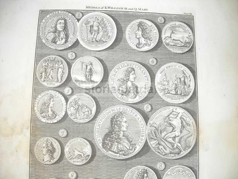Araldica, Nobilta Anglosassone, King William Iii, Queen Mary, Idra, Mitologia, 1745 immagine 3