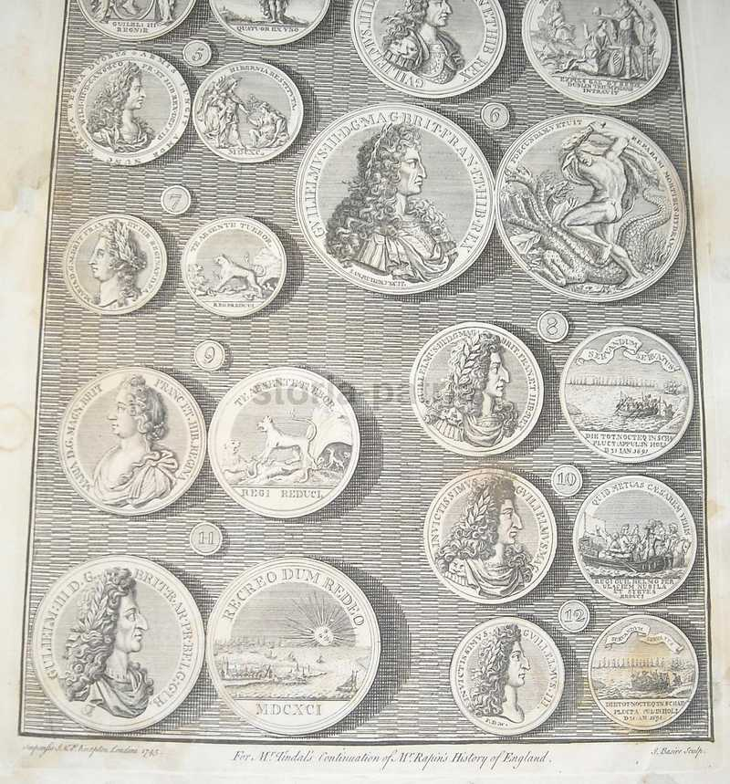 Araldica, Nobilta Anglosassone, King William Iii, Queen Mary, Idra, Mitologia, 1745 immagine 2