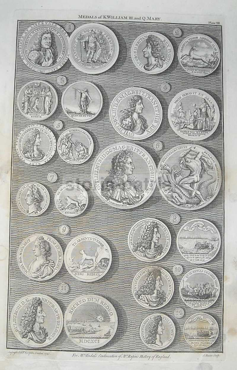 Araldica, Nobilta Anglosassone, King William Iii, Queen Mary, Idra, Mitologia, 1745 immagine 1