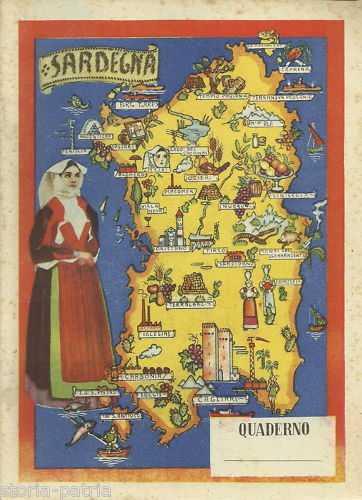 Cartina Sardegna Turistica.Folklore Costumi Popolari Sardi Sardegna Bella Ceramica Decorativa Da Collezione